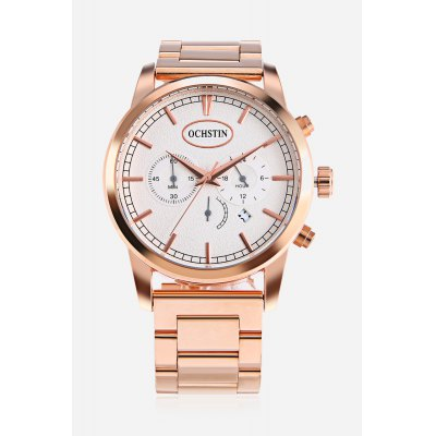 Men Fashion Quartz Watch 45mmMens Watches<br>Men Fashion Quartz Watch 45mm<br><br>Band material: Stainless Steel<br>Band size: 24 x 2.5cm<br>Case material: Stainless Steel<br>Clasp type: Butterfly clasp<br>Dial size: 4.5 x 4.5 x 1.2cm<br>Display type: Analog<br>Movement type: Quartz watch<br>Package Contents: 1 x Watch, 1 x Box<br>Package size (L x W x H): 16.00 x 8.00 x 5.00 cm / 6.3 x 3.15 x 1.97 inches<br>Package weight: 0.2600 kg<br>Product size (L x W x H): 24.00 x 4.50 x 1.20 cm / 9.45 x 1.77 x 0.47 inches<br>Product weight: 0.1720 kg<br>Shape of the dial: Round<br>Special features: Working sub-dial, Date<br>Watch style: Fashion<br>Watches categories: Men<br>Water resistance : Life water resistant