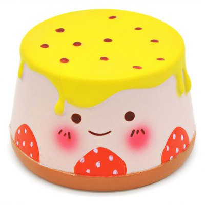 Cute Cartoon Pudding Soft PU Foam Squishy Toy