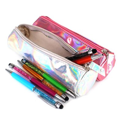 Large Capacity Pencil Bag for StudentsDesk Organizers<br>Large Capacity Pencil Bag for Students<br><br>Functions: Comestic Bag, Pencil Bag<br>Package Contents: 1 x Pencil Bag<br>Package size (L x W x H): 31.00 x 12.00 x 11.00 cm / 12.2 x 4.72 x 4.33 inches<br>Package weight: 0.0600 kg<br>Pen Lead Diameter: Others<br>Pen Type: Other<br>Product size (L x W x H): 20.00 x 9.00 x 8.00 cm / 7.87 x 3.54 x 3.15 inches<br>Product weight: 0.0300 kg