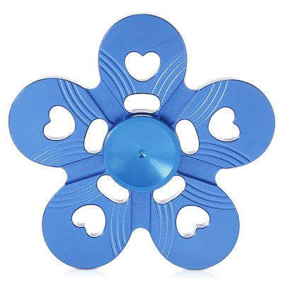Five-petal Plum Flower Zinc Alloy Fidget SpinnerFidget Spinners<br>Five-petal Plum Flower Zinc Alloy Fidget Spinner<br><br>Color: Blue<br>Frame material: Zinc Alloy<br>Package Contents: 1 x Fidget Spinner, 1 x Box<br>Package size (L x W x H): 9.00 x 9.00 x 2.00 cm / 3.54 x 3.54 x 0.79 inches<br>Package weight: 0.0920 kg<br>Product size (L x W x H): 6.50 x 6.50 x 1.50 cm / 2.56 x 2.56 x 0.59 inches<br>Product weight: 0.0380 kg<br>Type: Floral