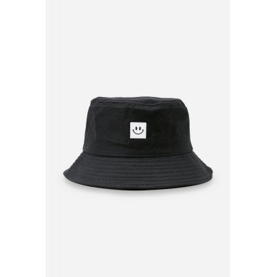 Smiling Face Pattern Sun Protection Cotton Bucket Hat
