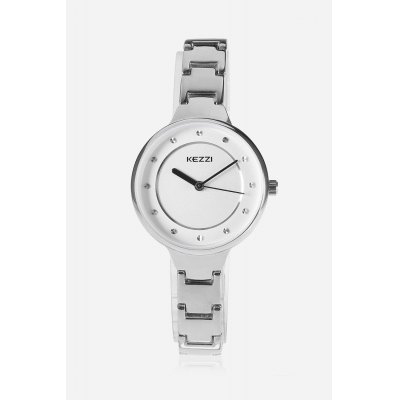 Trendy Lady Polished Quartz WatchWomens Watches<br>Trendy Lady Polished Quartz Watch<br><br>Band material: Alloys<br>Band size: 19.200 x 0.900cm<br>Case material: Alloy<br>Clasp type: Sheet folding clasp<br>Dial size: 3.000 x 3.000 x 0.790cm<br>Display type: Analog<br>Movement type: Quartz watch<br>Package Contents: 1 x Lady Quartz Watch<br>Package size (L x W x H): 26.00 x 5.00 x 2.00 cm / 10.24 x 1.97 x 0.79 inches<br>Package weight: 0.0760 kg<br>Product size (L x W x H): 19.20 x 3.00 x 0.79 cm / 7.56 x 1.18 x 0.31 inches<br>Product weight: 0.0410 kg<br>Shape of the dial: Round<br>Watch mirror: Mineral glass<br>Watch style: Bracelet Style, Casual, Classic<br>Watches categories: Female table,Women<br>Water resistance : Life water resistant