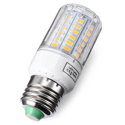 E27 58 LED 4.5W 650LM Decorative LED Corn LightCorn Bulbs<br>E27 58 LED 4.5W 650LM Decorative LED Corn Light<br><br>Available Light Color: Warm White<br>Features: Long Life Expectancy, Low Power Consumption<br>Function: Home Lighting<br>Holder: E27<br>Lifespan: 50000h<br>Package Contents: 1 x Bulb<br>Package size (L x W x H): 11.70 x 4.50 x 4.50 cm / 4.61 x 1.77 x 1.77 inches<br>Package weight: 0.0590 kg<br>Product size (L x W x H): 9.50 x 3.50 x 3.50 cm / 3.74 x 1.38 x 1.38 inches<br>Product weight: 0.0310 kg<br>Sheathing Material: PC<br>Type: Corn Bulbs<br>Voltage (V): AC 110