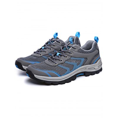 Fashion Outdoor Hiking Shoes for MenAthletic Shoes<br>Fashion Outdoor Hiking Shoes for Men<br><br>Features: Breathable, Lightweight<br>Gender: Men<br>Package Contents: 1 x Pair of Shoes<br>Package size: 32.00 x 18.00 x 12.00 cm / 12.6 x 7.09 x 4.72 inches<br>Package weight: 0.9400 kg<br>Product weight: 0.7800 kg<br>Type: Hiking Shoes