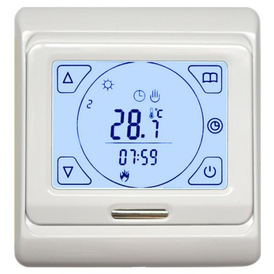 LCD Programmable Digital Heating Thermostat