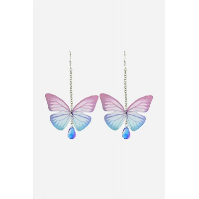 Rhinestone Butteryfly EardropsEarrings<br>Rhinestone Butteryfly Eardrops<br><br>Fabric: Alloy,Rhinestone<br>Occasions: Casual, Party<br>Package Contents: 1 x Pair of Eardrops<br>Package size (L x W x H): 5.00 x 8.40 x 2.40 cm / 1.97 x 3.31 x 0.94 inches<br>Package weight: 0.0200 kg<br>Product size (L x W x H): 5.00 x 8.40 x 2.40 cm / 1.97 x 3.31 x 0.94 inches<br>Product weight: 0.0030 kg<br>Style: Animal<br>Type: Earrings
