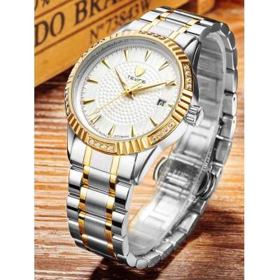 TEVISE 629A Luminous Men Auto Mechanical WatchMens Watches<br>TEVISE 629A Luminous Men Auto Mechanical Watch<br><br>Band material: Stainless Steel<br>Band size: 20 x 2cm<br>Brand: Tevise<br>Case material: Alloy<br>Clasp type: Butterfly clasp<br>Dial size: 3.9 x 3.9 x 1.3cm<br>Display type: Analog<br>Movement type: Automatic mechanical watch<br>Package Contents: 1 x Watch, 1 x Box , 1 x Watch, 1 x Box<br>Package size (L x W x H): 10.00 x 10.00 x 6.00 cm / 3.94 x 3.94 x 2.36 inches, 10.00 x 10.00 x 6.00 cm / 3.94 x 3.94 x 2.36 inches<br>Package weight: 0.3500 kg, 0.3500 kg<br>Product size (L x W x H): 20.00 x 3.90 x 1.30 cm / 7.87 x 1.54 x 0.51 inches, 20.00 x 3.90 x 1.30 cm / 7.87 x 1.54 x 0.51 inches<br>Product weight: 0.1280 kg, 0.1280 kg<br>Shape of the dial: Round<br>Special features: Luminous, Date<br>Watch style: Fashion<br>Watches categories: Men<br>Water resistance : Life water resistant