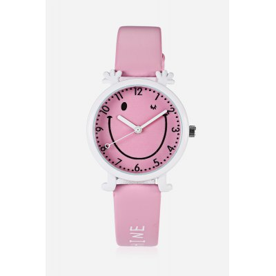 Children Super Cute Quartz WatchKids Watches<br>Children Super Cute Quartz Watch<br><br>Band material: PU<br>Band size: 21.300 x 1.400cm<br>Case material: Alloy<br>Clasp type: Pin buckle<br>Dial size: 3.000 x 3.000 x 0.800cm<br>Display type: Digital<br>Movement type: Quartz watch<br>Package Contents: 1 x Children Fashion Quartz Watch<br>Package size (L x W x H): 27.50 x 5.00 x 3.00 cm / 10.83 x 1.97 x 1.18 inches<br>Package weight: 0.0430 kg<br>Product size (L x W x H): 21.30 x 3.00 x 0.80 cm / 8.39 x 1.18 x 0.31 inches<br>Product weight: 0.0228 kg<br>Shape of the dial: Round<br>Watch mirror: Acrylic<br>Watch style: Casual, Childlike, Fashion, Lovely<br>Watches categories: Children table<br>Water resistance : Life water resistant<br>Wearable length: 15.00 - 19.30cm