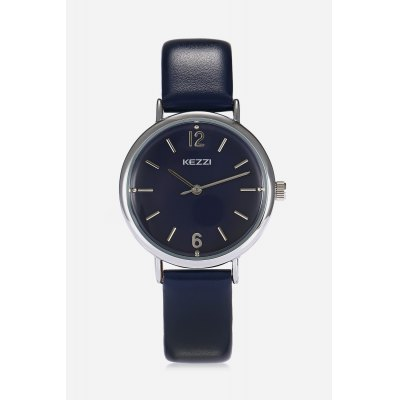 Fashion Style Lady Quartz WatchWomens Watches<br>Fashion Style Lady Quartz Watch<br><br>Band material: PU Leather<br>Band size: 22.400 x 1.400cm<br>Case material: Alloy<br>Clasp type: Pin buckle<br>Dial size: 3.200 x 3.200 x 0.900cm<br>Display type: Analog-Digital<br>Movement type: Quartz watch<br>Package Contents: 1 x Fashion Style Lady Quartz Watch<br>Package size (L x W x H): 28.00 x 7.00 x 3.00 cm / 11.02 x 2.76 x 1.18 inches<br>Package weight: 0.0470 kg<br>Product size (L x W x H): 22.40 x 3.20 x 0.90 cm / 8.82 x 1.26 x 0.35 inches<br>Product weight: 0.0259 kg<br>Shape of the dial: Round<br>Watch mirror: Mineral glass<br>Watch style: Fashion, Casual<br>Watches categories: Female table<br>Water resistance : Life water resistant<br>Wearable length: 15.80 - 20.20cm