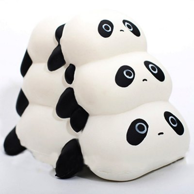 Cute Triple Tarepanda PU Foam Squishy Toy