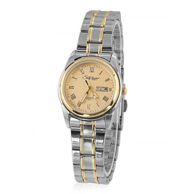 SELF LOVER L1004 Women WatchWomens Watches<br>SELF LOVER L1004 Women Watch<br><br>Band material: Stainless Steel<br>Band size: 20 x 1.5cm<br>Brand: SELF LOVER<br>Case material: Alloy<br>Clasp type: Folding clasp with safety<br>Dial size: 2.9 x 2.9 x 1cm<br>Display type: Analog<br>Movement type: Quartz watch<br>Package Contents: 1 x Watch<br>Package size (L x W x H): 19.00 x 7.00 x 2.00 cm / 7.48 x 2.76 x 0.79 inches<br>Package weight: 0.0900 kg<br>Product size (L x W x H): 20.00 x 2.90 x 1.00 cm / 7.87 x 1.14 x 0.39 inches<br>Product weight: 0.0650 kg<br>Shape of the dial: Round<br>Special features: Date, Day, Luminous<br>Watch style: Fashion<br>Watches categories: Women<br>Water resistance : Life water resistant