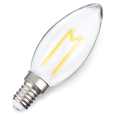 E14 3W 300LM Retro LED BulbCandle Bulbs<br>E14 3W 300LM Retro LED Bulb<br><br>Angle: 360 degree<br>Available Light Color: Warm White<br>Certifications: CE,FCC,RoHs<br>Features: Low Power Consumption, Long Life Expectancy, Energy Saving<br>Function: Home Lighting, Studio and Exhibition Lighting<br>Holder: E14<br>Lifespan: 25000h<br>Luminous Flux: 300lm<br>Output Power: 3W<br>Package Contents: 1 x Bulb<br>Package size (L x W x H): 3.80 x 3.80 x 11.20 cm / 1.5 x 1.5 x 4.41 inches<br>Package weight: 0.0550 kg<br>Product size (L x W x H): 2.80 x 2.80 x 10.20 cm / 1.1 x 1.1 x 4.02 inches<br>Product weight: 0.0300 kg<br>Sheathing Material: Glass<br>Type: Ball Bulbs<br>Voltage (V): AC 180-265V