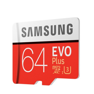 Original Samsung UHS-3 64GB Micro SDXC Memory CardMemory Cards<br>Original Samsung UHS-3 64GB Micro SDXC Memory Card<br><br>Brand: SAMSUNG<br>Certificate: CE,FCC<br>Class Rating: Class 10<br>Memory Capacity: 64G<br>Memory Card Type: SDXC<br>Package Contents: 1 x Original Samsung 64GB Micro SDXC Memory Card<br>Package size (L x W x H): 13.90 x 9.00 x 1.20 cm / 5.47 x 3.54 x 0.47 inches<br>Package weight: 0.0320 kg<br>Product size (L x W x H): 1.60 x 1.20 x 0.20 cm / 0.63 x 0.47 x 0.08 inches<br>Product weight: 0.0010 kg<br>Read Speed: 100MB/s<br>Support 4K Video Recording: No<br>Type: Memory Card<br>UHS Speed Class: UHS-3<br>Write Speed: 60MB/s