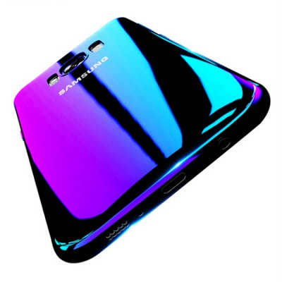 FLOVEME Gradient Color PC Phone Cover for Samsung Galaxy S8 Plus
