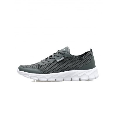 Men Breathable Mesh Athletic ShoesCasual Shoes<br>Men Breathable Mesh Athletic Shoes<br><br>Contents: 1 x Pair of Athletic Shoes<br>Materials: Microfiber, Rubber<br>Occasion: Casual<br>Package Size ( L x W x H ): 33.00 x 22.00 x 11.00 cm / 12.99 x 8.66 x 4.33 inches<br>Package Weights: 0.560kg<br>Seasons: Autumn,Spring,Summer<br>Style: Comfortable<br>Type: Casual Shoes