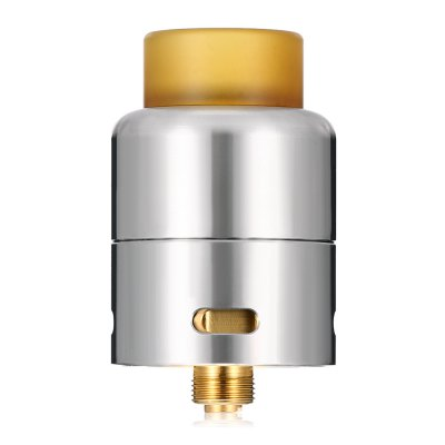 Cthulhu Azathoth RDARebuildable Atomizers<br>Cthulhu Azathoth RDA<br><br>Brand: Cthulhu<br>Material: Stainless Steel<br>Model: Azathoth<br>Overall Diameter: 24mm<br>Package Contents: 1 x Atomizer, 1 x 510 Drip Tip Adapter, 4 x Insulated Ring, 2 x Screw, 1 x Box, 1 x Allen Key, 1 x Pin<br>Package size (L x W x H): 6.50 x 6.00 x 3.70 cm / 2.56 x 2.36 x 1.46 inches<br>Package weight: 0.1060 kg<br>Product size (L x W x H): 3.90 x 2.40 x 2.40 cm / 1.54 x 0.94 x 0.94 inches<br>Product weight: 0.0380 kg<br>Rebuildable Atomizer: RBA,RDA<br>Thread: 510<br>Type: Rebuildable Drippers, Rebuildable Atomizer