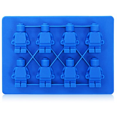 Robot-shaped Silicone Ice Cake Jelly Chocolate Mold