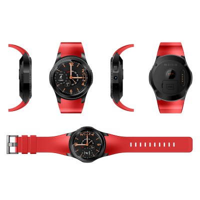 GMOVE GW11 3G Smartwatch PhoneSmart Watch Phone<br>GMOVE GW11 3G Smartwatch Phone<br><br>Additional Features: Browser, Alarm, People, Notification, MP4, MP3, GPS, 2G, 3G, Calculator..., Bluetooth<br>Battery: 400mAh Built-in<br>Bluetooth: Yes<br>Bluetooth Version: V3.0<br>Brand: GMOVE<br>Camera type: Single camera<br>Cell Phone: 1<br>Charging Dock: 1<br>Cores: 1.2GHz, Dual Core<br>CPU: MTK6572A<br>English Manual : 1<br>External Memory: Not Supported<br>Frequency: GSM 850/900/1800/1900MHz WCDMA 850/900/1900/2100MHz<br>Front camera: 2.0MP<br>Functions: Heart rate measurement, Pedometer, Message<br>GPS: Yes<br>Languages: Multi language<br>Music format: MP3<br>Network type: GSM+WCDMA<br>OS: Android 4.4<br>Package size: 10.20 x 10.20 x 8.70 cm / 4.02 x 4.02 x 3.43 inches<br>Package weight: 0.1390 kg<br>Picture format: PNG, JPEG, BMP<br>Product size: 20.50 x 4.70 x 1.40 cm / 8.07 x 1.85 x 0.55 inches<br>Product weight: 0.0730 kg<br>RAM: 512MB<br>ROM: 4GB<br>Screen size: 1.3 inch<br>Screen type: Capacitive<br>SIM Card Slot: Single SIM<br>Support 3G : Yes<br>Type: Watch Phone<br>Video format: MP4<br>Wireless Connectivity: Bluetooth, 3G, GPS, GSM