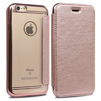 Transparent TPU Leather Cover
