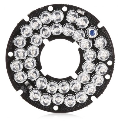 36 LED Red Lamp Night Vision Light Board
