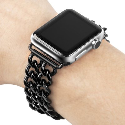Metal Chain Watchband StrapApple Watch Bands<br>Metal Chain Watchband Strap<br><br>Function: for Apple Watch 38mm<br>Material: Stainless Steel<br>Package Contents: 1 x Watch Band<br>Package size: 25.00 x 8.00 x 1.30 cm / 9.84 x 3.15 x 0.51 inches<br>Package weight: 0.0750 kg<br>Product size: 17.20 x 3.20 x 0.30 cm / 6.77 x 1.26 x 0.12 inches<br>Product weight: 0.0520 kg