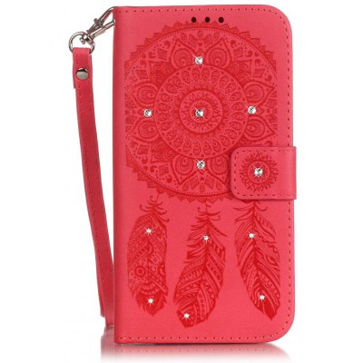 Embossing Leather Cover Case
