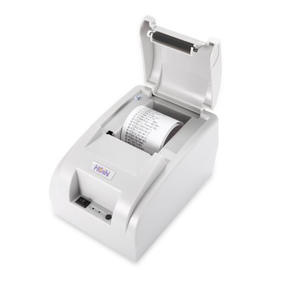 HOIN HOP - H58 USB / BluetoothThermal Receipt PrinterPrinters<br>HOIN HOP - H58 USB / BluetoothThermal Receipt Printer<br><br>Brand: HOIN<br>Package size: 19.20 x 13.20 x 12.20 cm / 7.56 x 5.2 x 4.8 inches<br>Package weight: 0.8280 kg<br>Packing Contents: 1 x HOIN HOP - H58 Thermal Printer, 1 x CD Driver, 1 x Power Adapter, 1 x Roll of Thermal Paper, 1 x USB Cable, 1 x English Manual<br>Product size: 18.50 x 13.00 x 11.50 cm / 7.28 x 5.12 x 4.53 inches<br>Product weight: 0.5910 kg<br>Type: Complete Machine