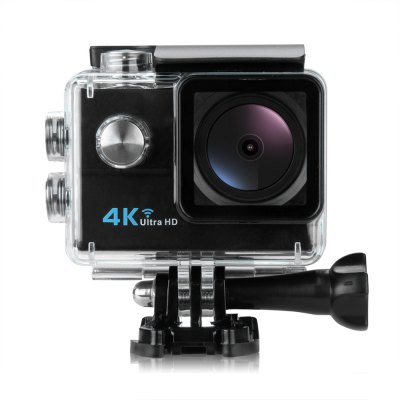 HDKing Q5H - 1 4K 30fps WiFi Action Sports CameraAction Cameras<br>HDKing Q5H - 1 4K 30fps WiFi Action Sports Camera<br><br>Aerial Photography: No<br>Anti-shake: No<br>Application: Extreme Sports, Motorcycle, Ski, Underwater, Bike<br>Auto Focusing: Yes<br>Battery Capacity (mAh): 900mAh<br>Battery Type: Removable<br>Brand Name: HDKing<br>Camera Pixel : 8MP<br>Camera Timer: Yes<br>Charge way: USB charge by PC<br>Charging Time: 3 - 4h<br>Chipset: Allwinner V3<br>Chipset Name: Allwinner<br>Features: Wireless<br>Function: Auto Focusing, Time Lapse, Loop-cycle Recording, Waterproof, Camera Timer, WiFi<br>Image Format : JPEG<br>Language: Deutsch,Dutch,English,French,Italian,Japanese,Korean,Polish,Portuguese,Spanish<br>Lens Diameter: 25mm<br>Loop-cycle Recording : Yes<br>Max External Card Supported: TF 64G (not included)<br>Model: Q5H - 1<br>Night vision : No<br>Package Contents: 1 x 4K Action Camera, 1 x Waterproof Housing, 1 x English User Manual, 1 x Frame, 1 x Bicycle Mount, 1 x J-shaped Mount, 3 x Connector + Screw, 1 x Tripod Adapter, 1 x Tripod Mount Adapter, 2 x Helmet<br>Package size (L x W x H): 27.50 x 17.50 x 7.00 cm / 10.83 x 6.89 x 2.76 inches<br>Package weight: 0.7040 kg<br>Product size (L x W x H): 5.90 x 4.10 x 2.90 cm / 2.32 x 1.61 x 1.14 inches<br>Product weight: 0.0650 kg<br>Screen: With Screen<br>Screen resolution: 320x240<br>Screen size: 2.0inch<br>Sensor: CMOS<br>Standby time: 90 minutes<br>Time lapse: Yes<br>Type: Sports Camera<br>Type of Camera: 4K<br>Video format: MP4<br>Video Frame Rate: 30FPS,60FPS,90fps<br>Video Resolution: 1080P(30fps),1080P(60fps),2.7K (30fps),4K (30fps),720P (90fps)<br>Water Resistant: 30m ( with waterproof case )<br>Waterproof: Yes<br>Waterproof Rating : IP68 ( with waterproof case )<br>Wide Angle: 170 degree wide angle<br>WIFI: Yes<br>WiFi Distance : 10m<br>Working Time: 90 minutes at 1080P