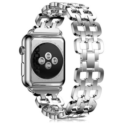 Stylish Stainless Steel WristbandApple Watch Bands<br>Stylish Stainless Steel Wristband<br><br>Function: for Apple Watch 42mm<br>Material: Tempered Glass<br>Package Contents: 1 x Watch Band<br>Package size: 25.00 x 8.00 x 1.30 cm / 9.84 x 3.15 x 0.51 inches<br>Package weight: 0.0830 kg<br>Product size: 19.50 x 3.50 x 0.30 cm / 7.68 x 1.38 x 0.12 inches<br>Product weight: 0.0600 kg