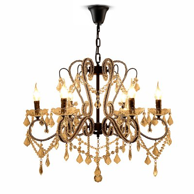 LightMyself E14 / E12 x 6 Crystal Trimmed Pendant LightChandelier<br>LightMyself E14 / E12 x 6 Crystal Trimmed Pendant Light<br><br>Brand: LightMyself<br>Bulb Base Type: E14, E12<br>Bulb Included: No<br>Output Power: 40W<br>Package Contents: 1 x LightMyself Crystal Pendant Light<br>Package size (L x W x H): 61.00 x 37.00 x 24.00 cm / 24.02 x 14.57 x 9.45 inches<br>Package weight: 5.5300 kg<br>Product weight: 4.5000 kg<br>Sheathing Material: Crystal, Iron<br>Style: Classic<br>Type: Pendants<br>Voltage (V): AC 110-120V,AC 220-240