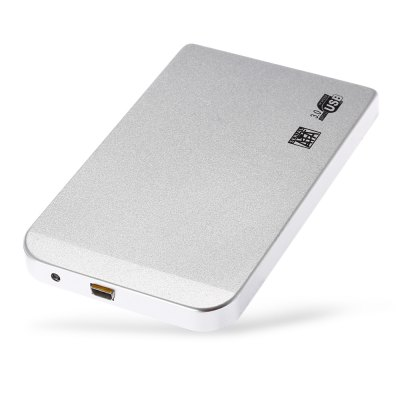 23S83 - RTK USB 3.0 2.5 inch SSD Hard Disk BoxHDD Enclosure<br>23S83 - RTK USB 3.0 2.5 inch SSD Hard Disk Box<br><br>Application: Desktop<br>Design: Classical, Portable<br>Material: Aluminum<br>Package Size(L x W x H): 15.00 x 10.00 x 3.20 cm / 5.91 x 3.94 x 1.26 inches<br>Package weight: 0.1180 kg<br>Packing List: 1 x Hard Drive, 1 x USB Cable<br>Product Size(L x W x H): 11.80 x 7.30 x 1.00 cm / 4.65 x 2.87 x 0.39 inches<br>Product weight: 0.0400 kg