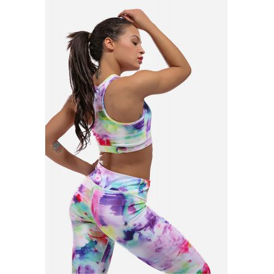 Yoga Bra for WomenYoga<br>Yoga Bra for Women<br><br>Features: Breathable, Quick Dry<br>Gender: Female<br>Material: Spandex, Nylon<br>Package Content: 1 x Bra<br>Package size: 30.00 x 35.00 x 0.50 cm / 11.81 x 13.78 x 0.2 inches<br>Package weight: 0.2200 kg<br>Product weight: 0.1800 kg<br>Type: Yoga Vest Bra
