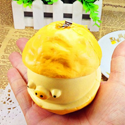NEXTERIC Lovely PU Slow Rising Squishy Ox-eyed Piggy Puff Toy