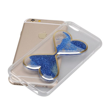 Glitter Powder Quicksand CaseiPhone Cases/Covers<br>Glitter Powder Quicksand Case<br><br>Compatible for Apple: iPhone 6 Plus, iPhone 6S Plus<br>Features: Anti-knock, Back Cover<br>Material: Silicone<br>Package Contents: 1 x Phone Case<br>Package size (L x W x H): 17.00 x 9.00 x 3.00 cm / 6.69 x 3.54 x 1.18 inches<br>Package weight: 0.0650 kg<br>Product size (L x W x H): 16.00 x 8.00 x 0.80 cm / 6.3 x 3.15 x 0.31 inches<br>Product weight: 0.0350 kg<br>Style: Cool, Pattern, Modern