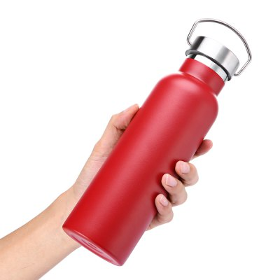 600mL Vacuum Stainless Steel Portable Handle Water BottleOther Camping Gadgets<br>600mL Vacuum Stainless Steel Portable Handle Water Bottle<br><br>Capacity: 600mL<br>Package Contents: 1 x Water Bottle<br>Package size (L x W x H): 8.00 x 8.00 x 30.00 cm / 3.15 x 3.15 x 11.81 inches<br>Package weight: 0.3980 kg<br>Product size (L x W x H): 7.00 x 7.00 x 24.40 cm / 2.76 x 2.76 x 9.61 inches<br>Product weight: 0.3130 kg