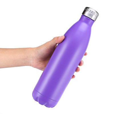 750mL Cola-shaped Vacuum Stainless Steel Water BottleOther Camping Gadgets<br>750mL Cola-shaped Vacuum Stainless Steel Water Bottle<br><br>Capacity: 750mL<br>Material: Stainless Steel<br>Package Contents: 1 x Water Bottle<br>Package size (L x W x H): 9.00 x 9.00 x 31.00 cm / 3.54 x 3.54 x 12.2 inches<br>Package weight: 0.5460 kg<br>Product size (L x W x H): 7.50 x 7.50 x 30.00 cm / 2.95 x 2.95 x 11.81 inches<br>Product weight: 0.4250 kg