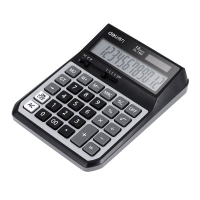 Deli 1582 12-digit Calculator for Accounting / CalculatingDesk Organizers<br>Deli 1582 12-digit Calculator for Accounting / Calculating<br><br>Brand: Deli<br>Features: Calculating Tool<br>Model: 1582<br>Package Contents: 1 x Deli 1582 12bit Number Calculator, 1 x AA Battery<br>Package size (L x W x H): 20.00 x 14.50 x 5.00 cm / 7.87 x 5.71 x 1.97 inches<br>Package weight: 0.2910 kg<br>Product size (L x W x H): 16.40 x 13.50 x 4.00 cm / 6.46 x 5.31 x 1.57 inches<br>Product weight: 0.2020 kg