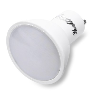 YouOKLight 5W GU10 10 LEDs Spotlight Bulb AC 85 - 265VSpot Bulbs<br>YouOKLight 5W GU10 10 LEDs Spotlight Bulb AC 85 - 265V<br><br>Available Light Color: White<br>Brand: YouOKLight<br>CCT/Wavelength: 5500-6500K<br>Certifications: CE,FCC,RoHs<br>Emitter Types: SMD 5730<br>Features: Low Power Consumption, Long Life Expectancy<br>Function: Horticultural Illumination, Commercial Lighting, Studio and Exhibition Lighting<br>Holder: GU10<br>Luminous Flux: 400Lm<br>Output Power: 5W<br>Package Contents: 1 x YouOKLight 5W GU10 10 LEDs Spot Bulb<br>Package size (L x W x H): 5.00 x 5.00 x 7.00 cm / 1.97 x 1.97 x 2.76 inches<br>Package weight: 0.0800 kg<br>Product weight: 0.0480 kg<br>Sheathing Material: Aluminum, Plastic<br>Total Emitters: 10<br>Type: Spot Bulbs<br>Voltage (V): AC 85-265