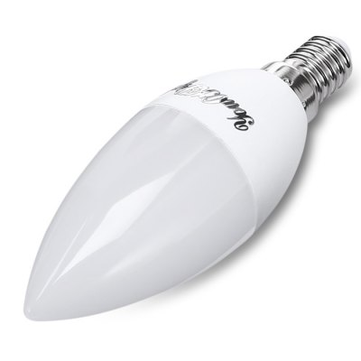 YouOKLight E14 4.5W 10 LEDs Candle LampCandle Bulbs<br>YouOKLight E14 4.5W 10 LEDs Candle Lamp<br><br>Available Light Color: White<br>Brand: YouOKLight<br>CCT/Wavelength: 6000K<br>Emitter Types: SMD 5730<br>Features: Low Power Consumption<br>Function: Home Lighting<br>Holder: E14<br>Luminous Flux: 350Lm<br>Package Contents: 1 x YouOKLight Candle Lamp<br>Package size (L x W x H): 4.00 x 4.00 x 15.00 cm / 1.57 x 1.57 x 5.91 inches<br>Package weight: 0.0730 kg<br>Product weight: 0.0400 kg<br>Sheathing Material: Plastic, Aluminum<br>Total Emitters: 10<br>Type: Candle Bulbs<br>Voltage (V): AC 85-265