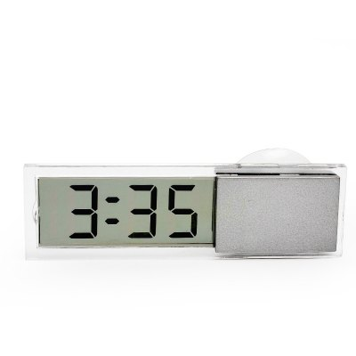 Car LCD Electronic Digital Clock with Suction Cup 217845801