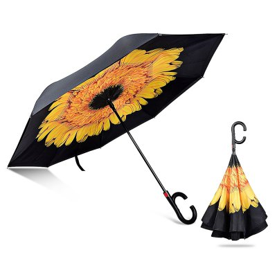 Printed Windproof Inverted Umbrella for CarUmbrella &amp; Raincoats<br>Printed Windproof Inverted Umbrella for Car<br><br>Package Contents: 1 x Umbrella<br>Package Size(L x W x H): 84.00 x 8.00 x 8.00 cm / 33.07 x 3.15 x 3.15 inches<br>Package weight: 0.5600 kg<br>Product size (L x W x H): 80.00 x 7.00 x 7.00 cm / 31.5 x 2.76 x 2.76 inches<br>Product weight: 0.4800 kg