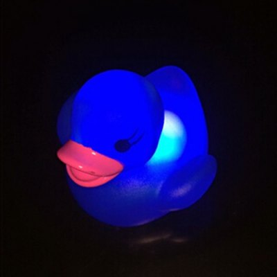 Duck LED Water-induction Lamp Light Toy