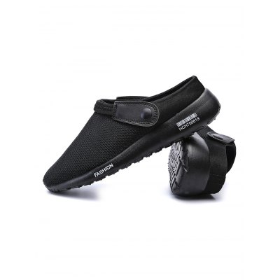 Male Slip On Summer Breathable Mesh SandalsMens Sandals<br>Male Slip On Summer Breathable Mesh Sandals<br><br>Contents: 1 x Garden Clogs, 1 x Garden Clogs<br>Materials: Mesh, Rubber<br>Occasion: Daily, Daily, Casual<br>Package Size ( L x W x H ): 31.00 x 18.50 x 12.00 cm / 12.2 x 7.28 x 4.72 inches, 31.00 x 18.50 x 12.00 cm / 12.2 x 7.28 x 4.72 inches<br>Package Weights: 0.5800KG, 0.5800KG<br>Seasons: Autumn,Spring,Summer, Autumn,Spring,Summer<br>Style: Comfortable, Comfortable, Fashion, Leisure, Fashion, Leisure<br>Type: Sandals
