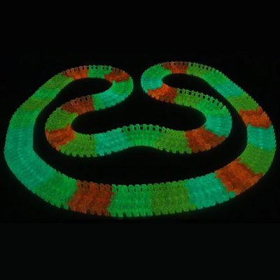 165pcs DIY ABS Luminous 3D Car Racing TrackNovelty Toys<br>165pcs DIY ABS Luminous 3D Car Racing Track<br><br>Features: manual<br>Materials: ABS<br>Package Contents: 1 x Track Set, 1 x Car<br>Package size: 22.00 x 22.00 x 17.00 cm / 8.66 x 8.66 x 6.69 inches<br>Package weight: 0.6000 kg<br>Product size: 20.00 x 20.00 x 15.00 cm / 7.87 x 7.87 x 5.91 inches<br>Product weight: 0.3000 kg<br>Series: Entertainment<br>Theme: Car