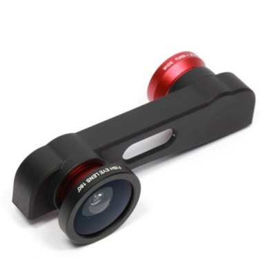 3 in 1 Fisheye Wide Angle Macro Lens Kit for iPhone 6 / 6S