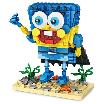 LOZ New Style Hero Edition Mini Particles Building Blocks