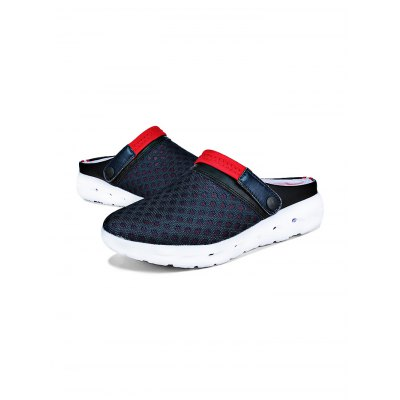 Men New Mesh Ventilate Beach Casual SandalsMens Sandals<br>Men New Mesh Ventilate Beach Casual Sandals<br><br>Contents: 1 x Pair of Casual Sandals, 1 x Pair of Casual Sandals<br>Materials: Mesh, Mesh, Rubber, Rubber<br>Occasion: Daily, Daily, Casual, Casual<br>Package Size ( L x W x H ): 31.00 x 18.50 x 11.00 cm / 12.2 x 7.28 x 4.33 inches, 31.00 x 18.50 x 11.00 cm / 12.2 x 7.28 x 4.33 inches<br>Package Weights: 0.42kg, 0.42kg<br>Seasons: Summer, Summer<br>Style: Leisure, Leisure, Comfortable, Comfortable<br>Type: Sandals, Sandals