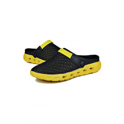 Men New Mesh Ventilate Beach Casual SandalsMens Sandals<br>Men New Mesh Ventilate Beach Casual Sandals<br><br>Contents: 1 x Pair of Casual Sandals<br>Materials: Mesh, Rubber<br>Occasion: Casual, Daily<br>Package Size ( L x W x H ): 31.00 x 18.50 x 11.00 cm / 12.2 x 7.28 x 4.33 inches<br>Package Weights: 0.42kg<br>Seasons: Summer<br>Style: Leisure, Comfortable<br>Type: Sandals