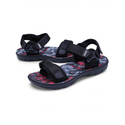 Male Outdoor Casual Summer Open-toe Sport SandalsMens Sandals<br>Male Outdoor Casual Summer Open-toe Sport Sandals<br><br>Contents: 1 x Sport Sandals<br>Materials: Fabric, Rubber<br>Occasion: Casual, Daily<br>Package Size ( L x W x H ): 31.00 x 18.50 x 11.00 cm / 12.2 x 7.28 x 4.33 inches<br>Package Weights: 0.6700KG<br>Seasons: Summer<br>Style: Leisure, Fashion, Comfortable<br>Type: Sandals