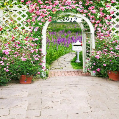 Romantic Garden Photography Background Cloth